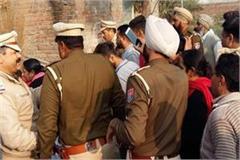 tension in 2 sides for establishment of idol in village mangar