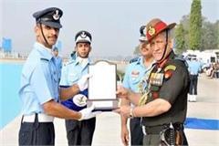 abhishek mandyal becomes flying officer in air force