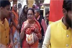 shivraj s wife reached her mother in law temple