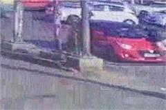 car driver climbs on policeman cctv detains all incidents