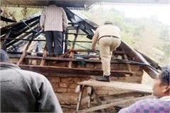 fire in cowshed loss of 3 lakh