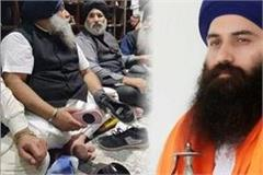 sukhbir badal continues to polish sports shoes with fear daduwal