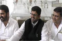 dushyant chautala commented on abhay chautala