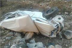 mandi car trench person death