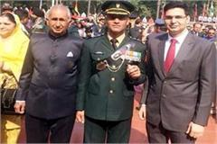 sikander becomes lieutenant in army