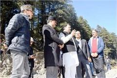 2 minister of jairam cabinet reached manali visit the rohtang tunnel