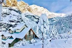 mountain glittering from snow lahaul s residents dependent on air service