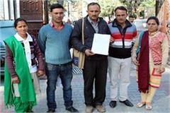 sir panchayat head s husband asks for money instead of development work