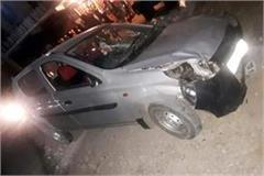 car driver aconite the 3 passer by 2 serious injured
