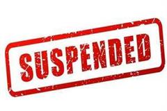 panchayat elections officers suspended