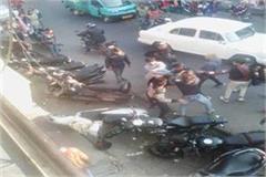 badsar market 2 factions quarrels commotion