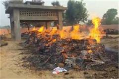 8 cremated in a cremation ground died in accident