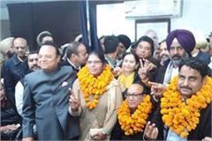 jagdish raja gets jalandhar new mayor