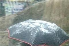 these districts including shimla start rain snowfall