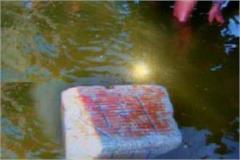 floating stone found in yamuna named rama