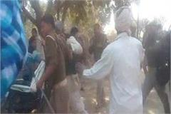 up police reaching out to resolve the dispute nambi sticks on women