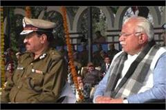 chief minister reached at madhuban police academy