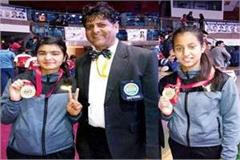 daughters of himachal shined in national kickboxing  9 medal win