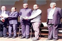 enhanced value of the himachal  e legislation  got another honor