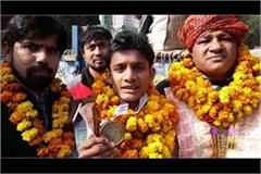 ankur of wins gold for bahadurgarh
