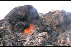 crop relic burned in fire cost of millions