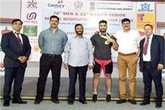 himachali gabaru in senior national weight lifting  4 gold medal won