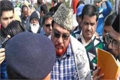 maulana touqir raza was going to kasganj  police took custody
