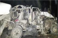 tractor trolley and bolero collision 5 deaths