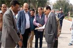 dgp and adgp did surprise inspection of police lines
