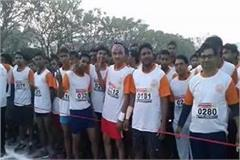 first time in faizabad the half marathon is organized