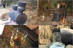 liquor of raw liquor was going on under guise of the brick kiln police raid