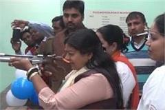 launched the shooting range in sonipat