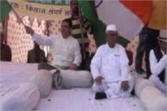 anna hazare a social activist who came out in support of farmers