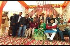 punjab bjp leader throws son s reception at gaushala