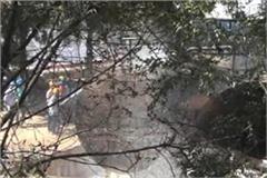 hindustan petroleum depot employee scorch