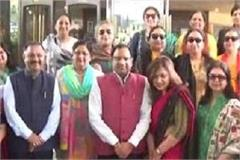 surajkund fair wives of union ministers