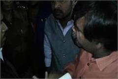 bjp leader kamal dutt sharma dhamki police parshashan