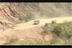 mining mafias attacked police many injured