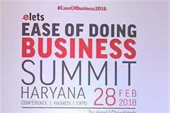 haryana reached tops in is of doing business