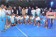 haryana wins kabaddi championship see photos