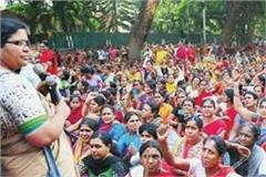 announcement of holi gift to anganwadi workers