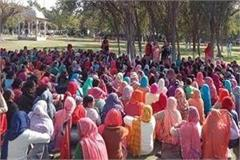 anganwadi workers strike end