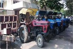 mathura police s big success 70 tractors recovered 17 arrested
