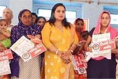 president also praised for improving sex ratio in jhajjar