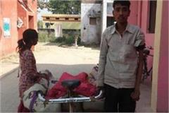 barabanki physically challenged dead body on hand cart