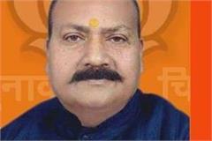 bjp candidate from gorakhpur sub division upendra dutt shukla ill