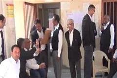 case of fir against lawyer sk garg work suspension