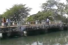 children and youths immersed in the canal canal