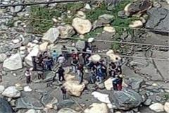 two young girl jumped from the bridge in rampur