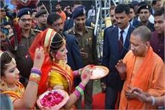 cm yogi will celebrate holi in gorakhpur between hard security